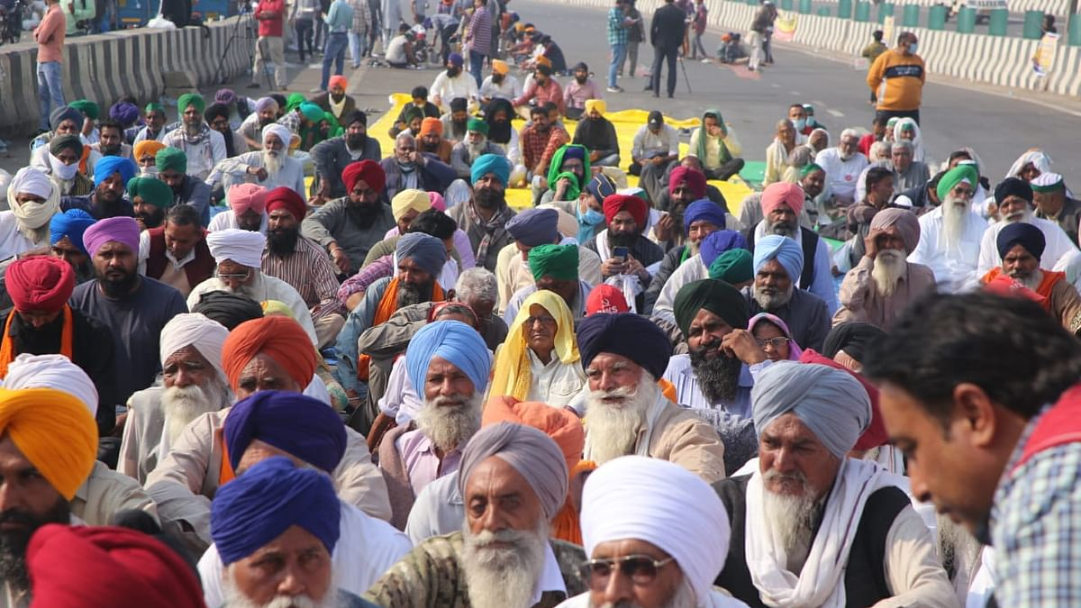 Farmers have put up a 'Republican' spectacle to counter a Govt which feeds on spectacles