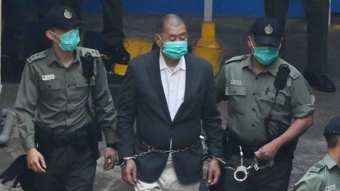 Hong Kong pro-democracy media tycoon Jimmy Lai gets bail