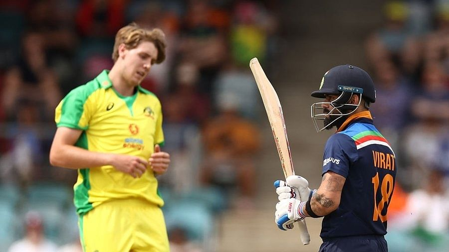 Kohli becomes fastest cricketer to score 12000 ODI runs, beats Tendulkar's record