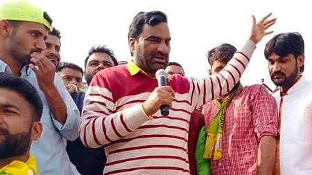 RLP leader Hanuman Beniwal (Photo courtesy: social media)