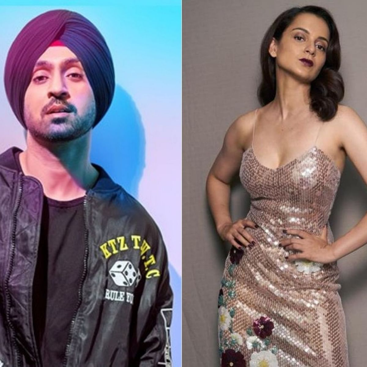 Kangana gets trolled for a false tweet; Diljit Dosanjh slams  her over her tweets on farmers' protest