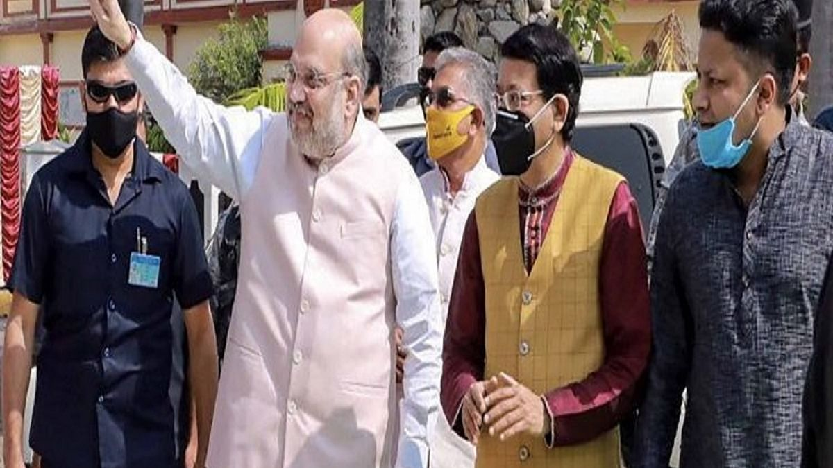 Amit Shah holds meeting with Union ministers, BJP general secretaries on farmers' issue