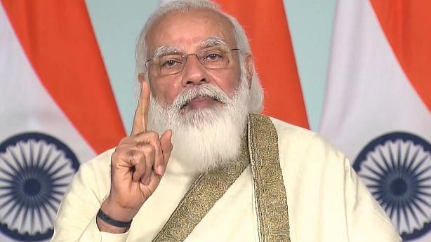 Development should not be seen through political prism: PM Modi at AMU event