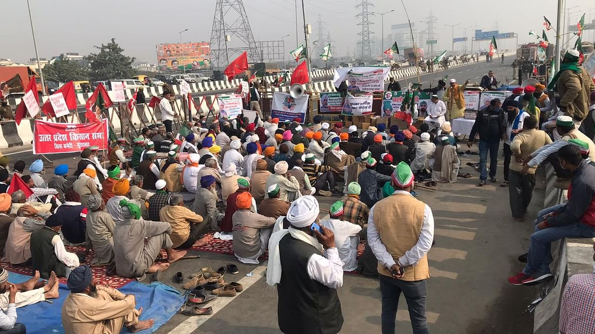 Sugarcane dues, high power tariff, loans drive UP farmers to Ghazipur protest site