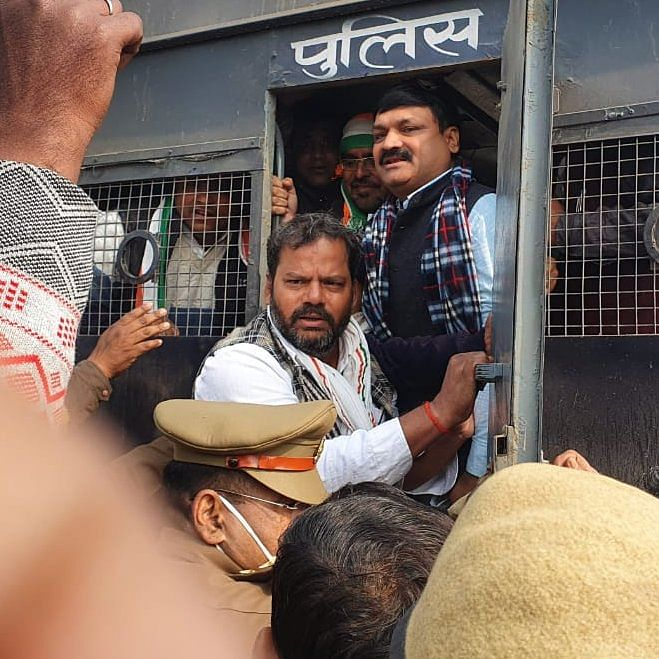 Save Cows, Save Farmers March: Nearly 100 Congress workers detained in UP's Banda