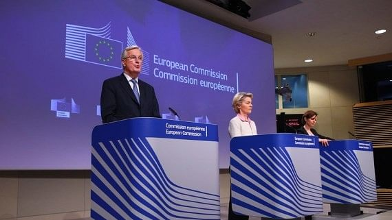 UK-EU divorce overshadowed by coronavirus