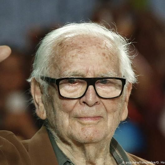 Pierre Cardin: Everyone has the right to be fashionable, fashion is integral to your personality