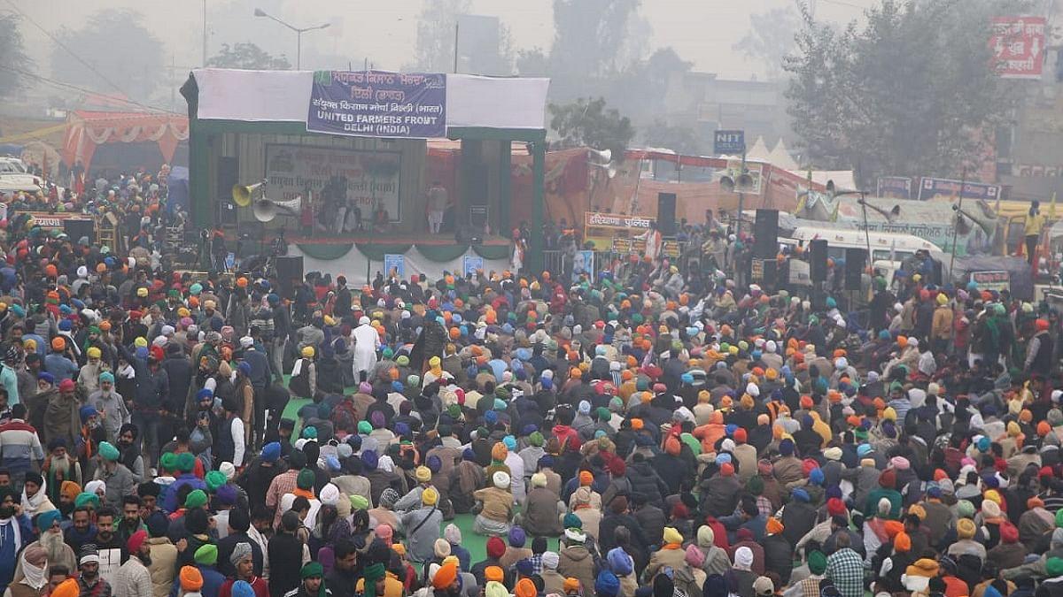 Centre should scrap new farm laws: Shiv Sena