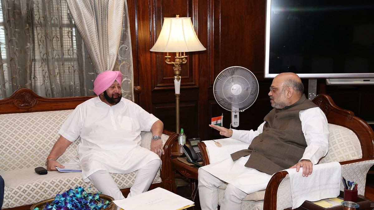 Capt Amarinder Singh seeks early resolution of farmers' issues in emergency meeting with Amit Shah