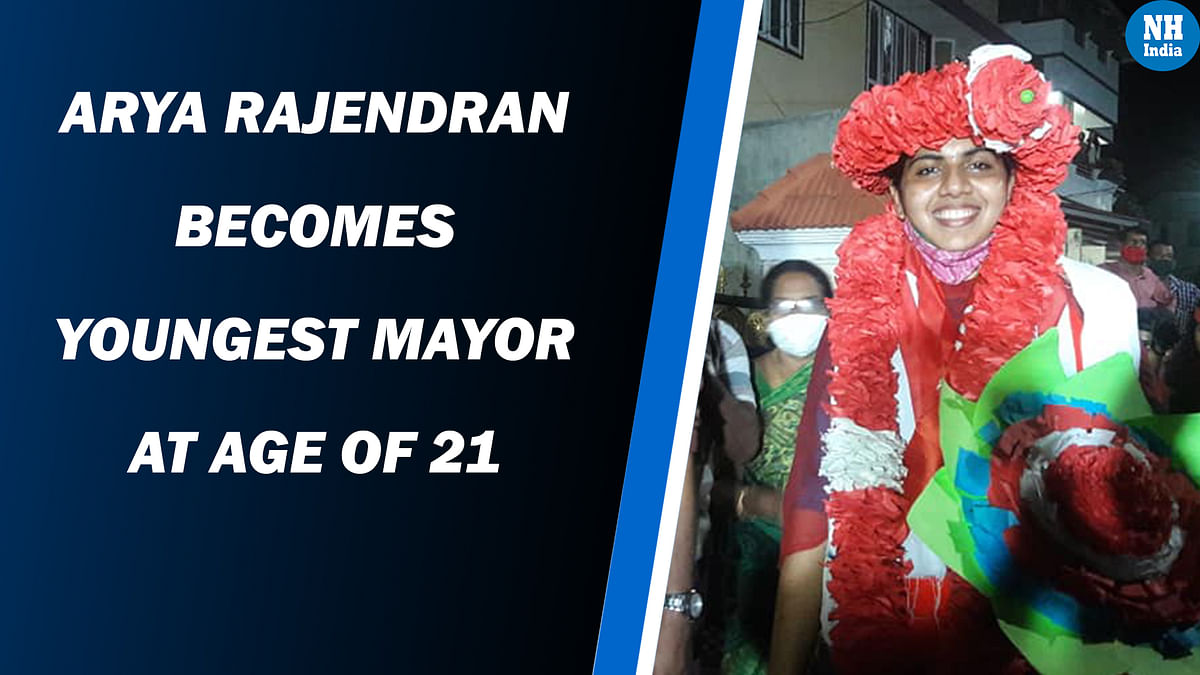 Arya Rajendran Becomes Youngest Mayor At Age Of 21