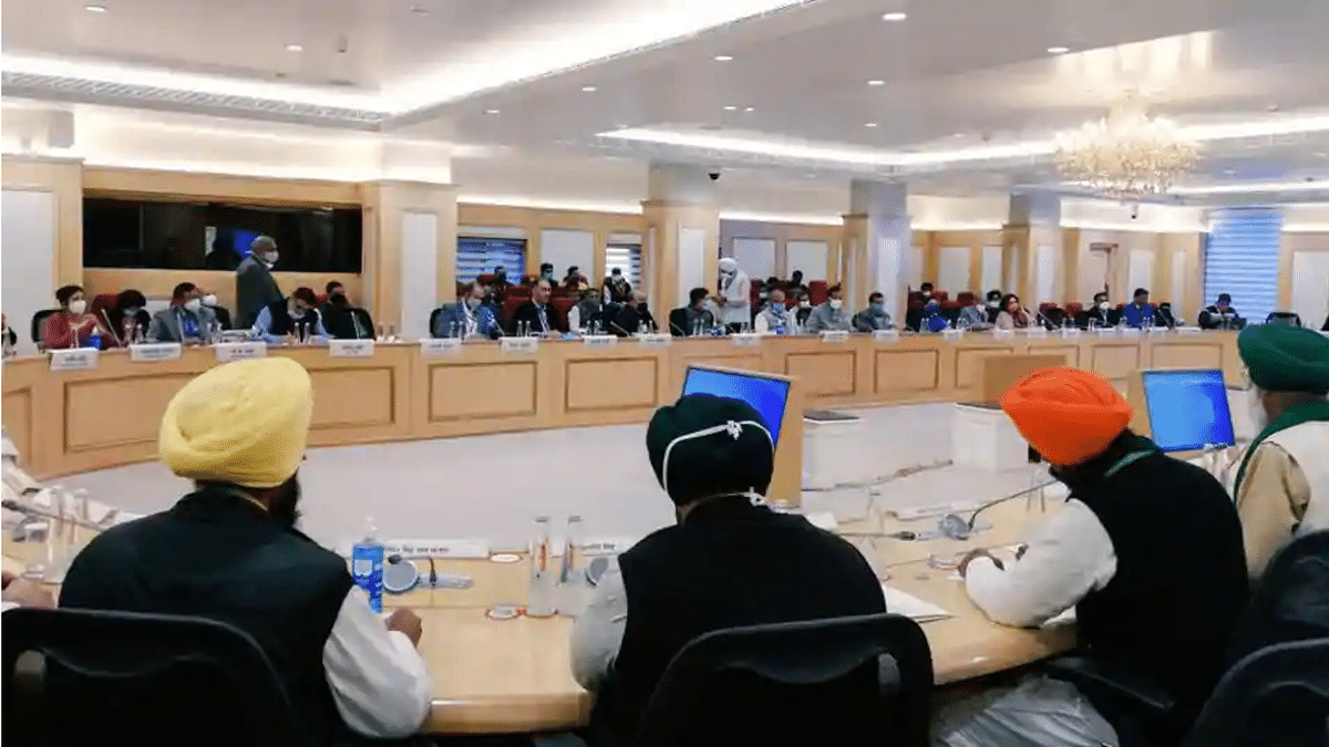 Shocking! Centre says it has no record of meetings with farmers' groups: Right to Information