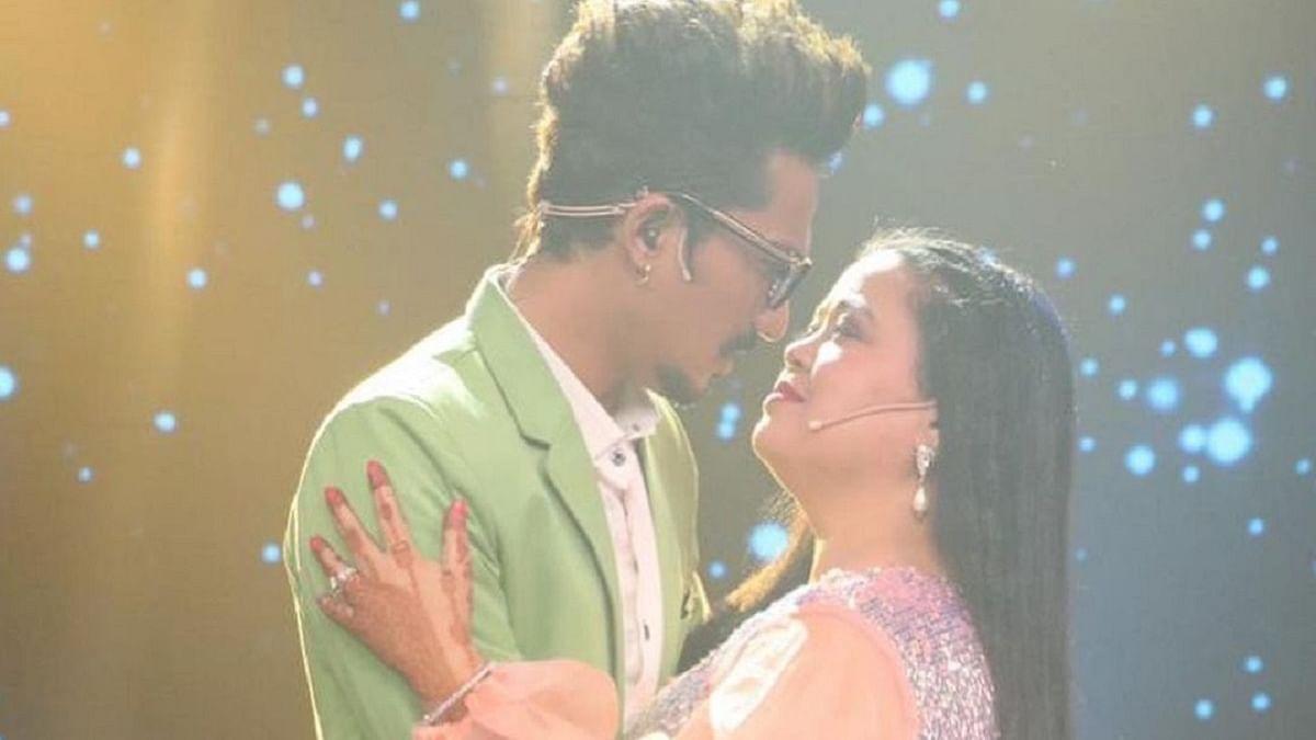 Haarsh Limbachiyaa and Bharti Singh (Photo Courtesy: IANS)