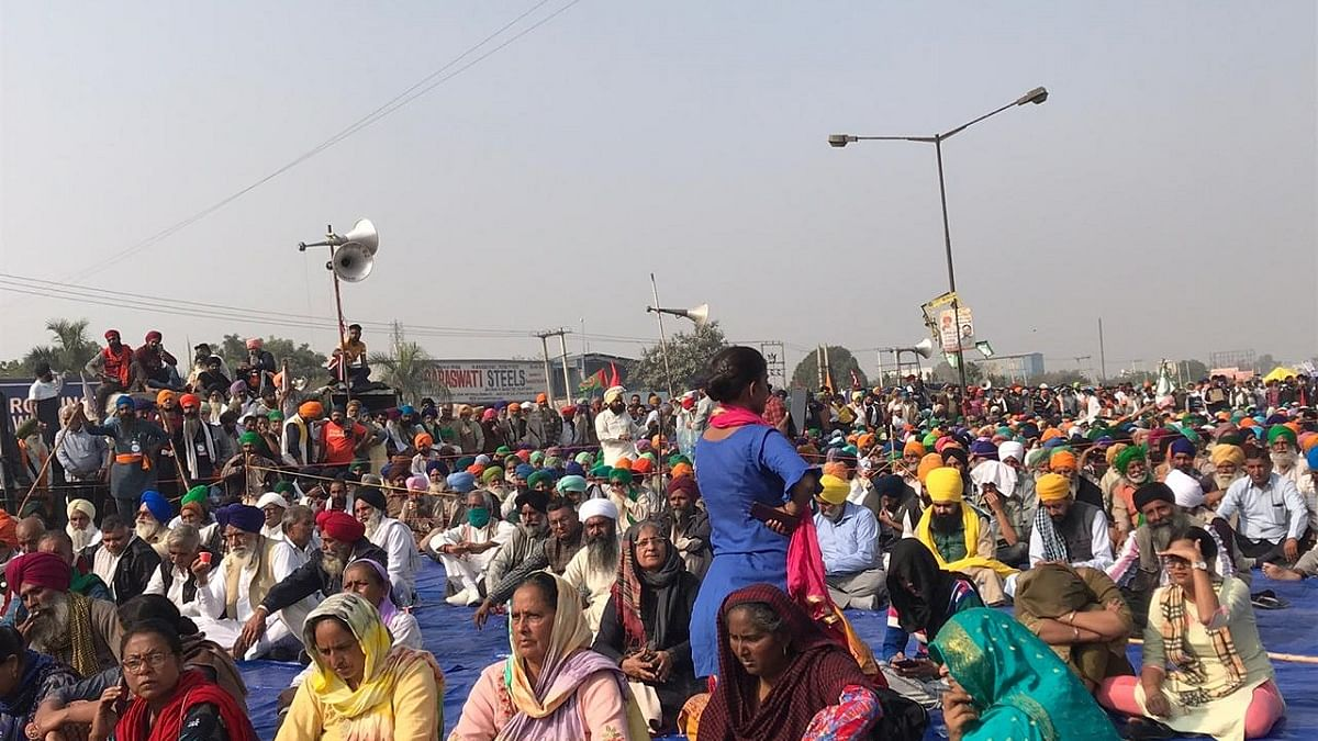 As talks with govt remain inconclusive, farmers at Singhu border determined to continue protest