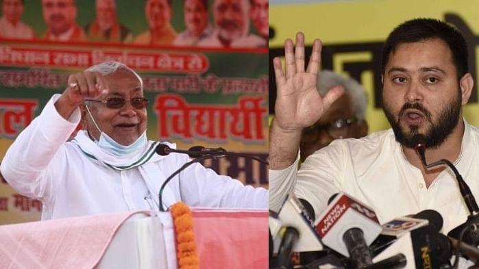 Tejashwi attacks Nitish for not allowing Patna rally
