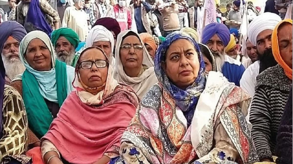 Women from Punjab step forward to support farmers' agitation at Delhi borders