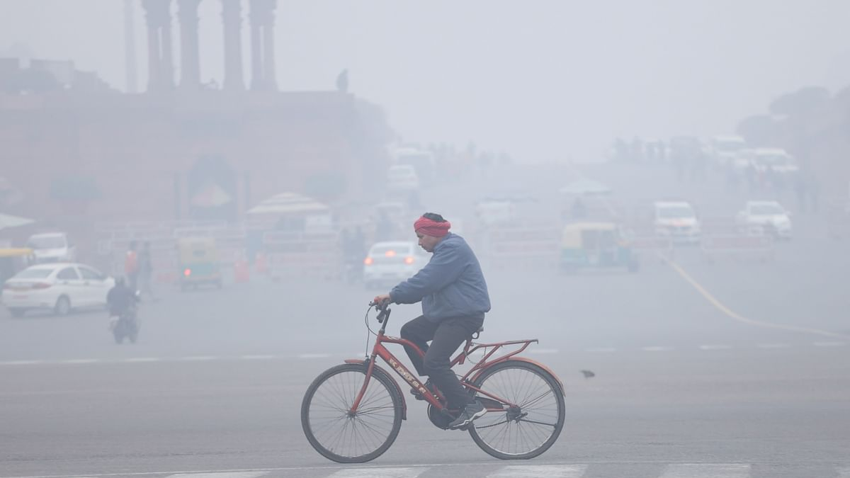 Delhi's minimum temperature rises to 8 degree Celsius