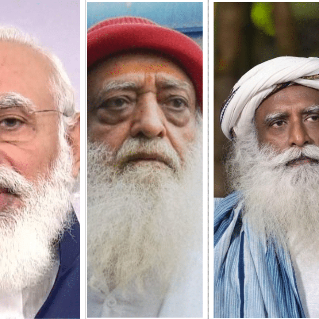 Know them by their beard? But then a beard does not make a fakir or a saint