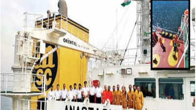 NHRC notice to MEA secy, DG Shipping over Indians stranded on ships in Chinese waters