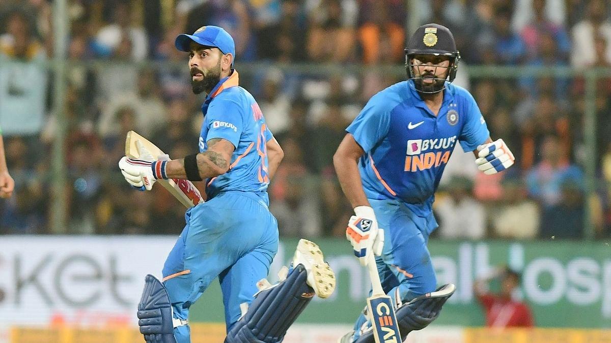 Virat, Rohit maintain top 2 spots in ICC ODI rankings
