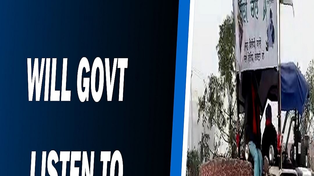 Farmer reaches Delhi on tractor in 'Reverse Gear'