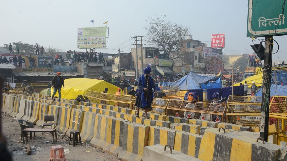 44 arrested in Singhu border violence
