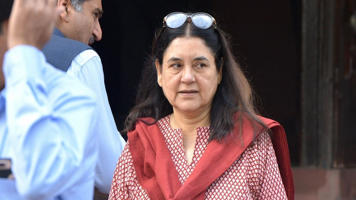 Will have you booked in sexual harassment case: Maneka Gandhi to businessman accused of hitting stray dog
