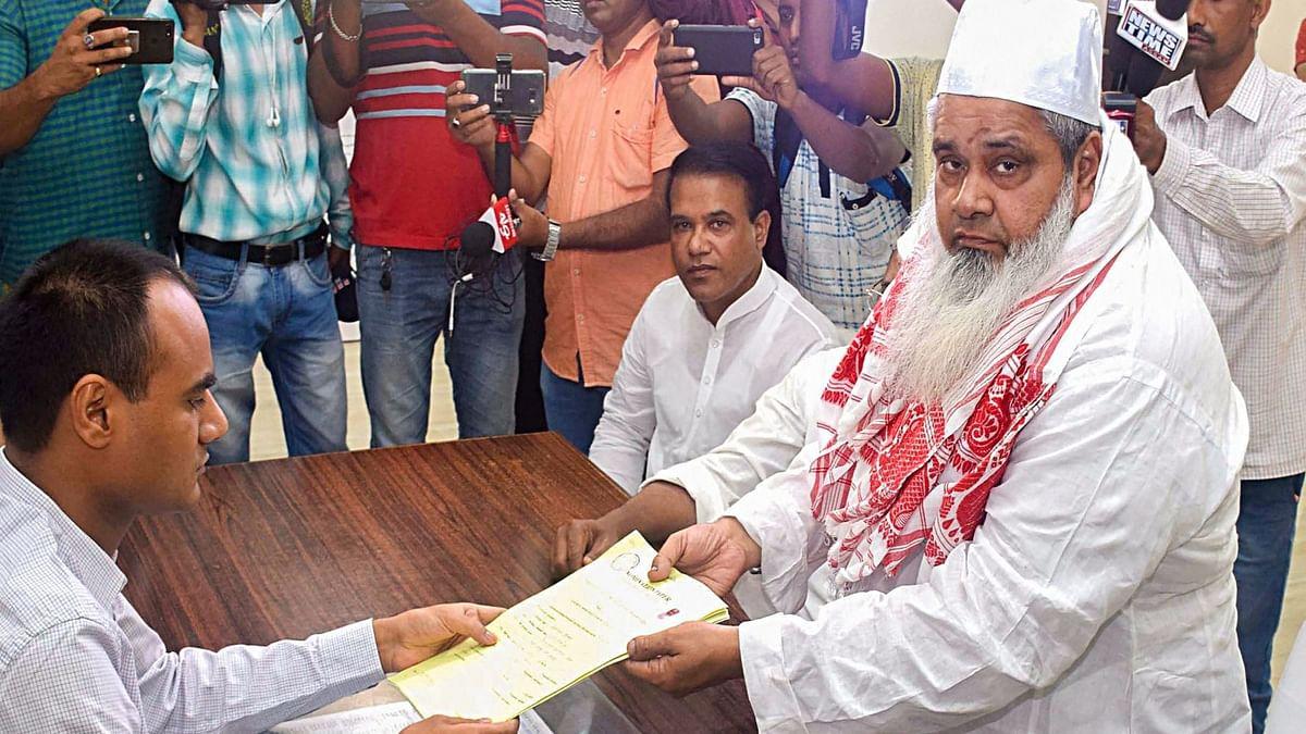 BJP desperate to create fissures in Congress-AIUDF alliance bid in Assam by going after Badruddin Ajmal