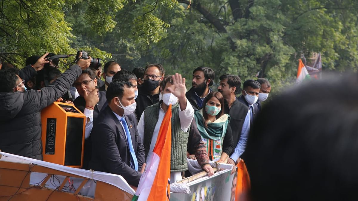 Nationwide protests by Congress in support of farmers; Rahul says won't relent till laws are repealed