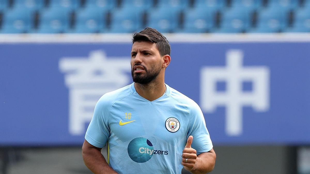 Manchester City striker Aguero tests positive for COVID-19