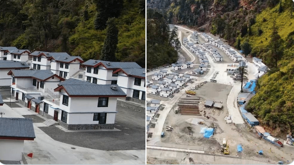 Entire Chinese village came up in Arunachal Pradesh within an year, show satellite images