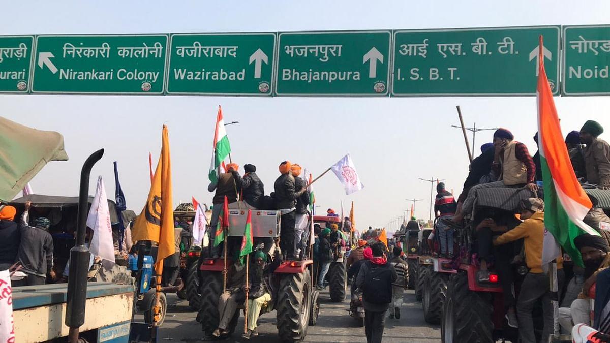 Govt orders internet shutdown in areas close to farmers protest sites in Delhi
