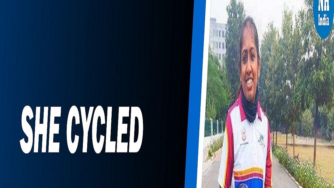 Inspiration! Tanya cycled 3800km on one leg, creates history