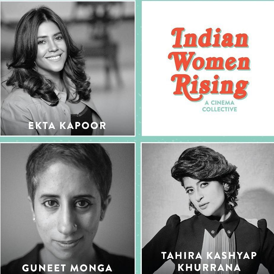 Ekta Kapoor, Guneet Monga, Tahira Kashyap come together to launch 'Indian Women Rising', a cinema collective