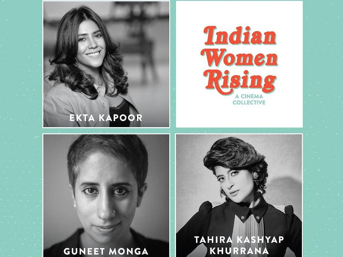 Ekta Kapoor, Guneet Monga, Tahira Kashyap come together to launch 'Indian Women Rising', a cinema collective