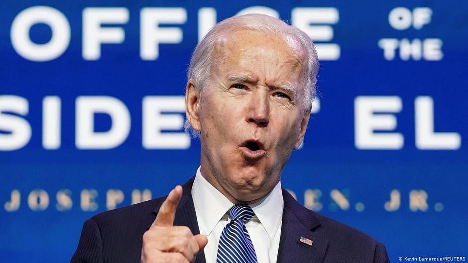 Capitol Hill violence result of Trump's 'contempt for democracy', says Biden