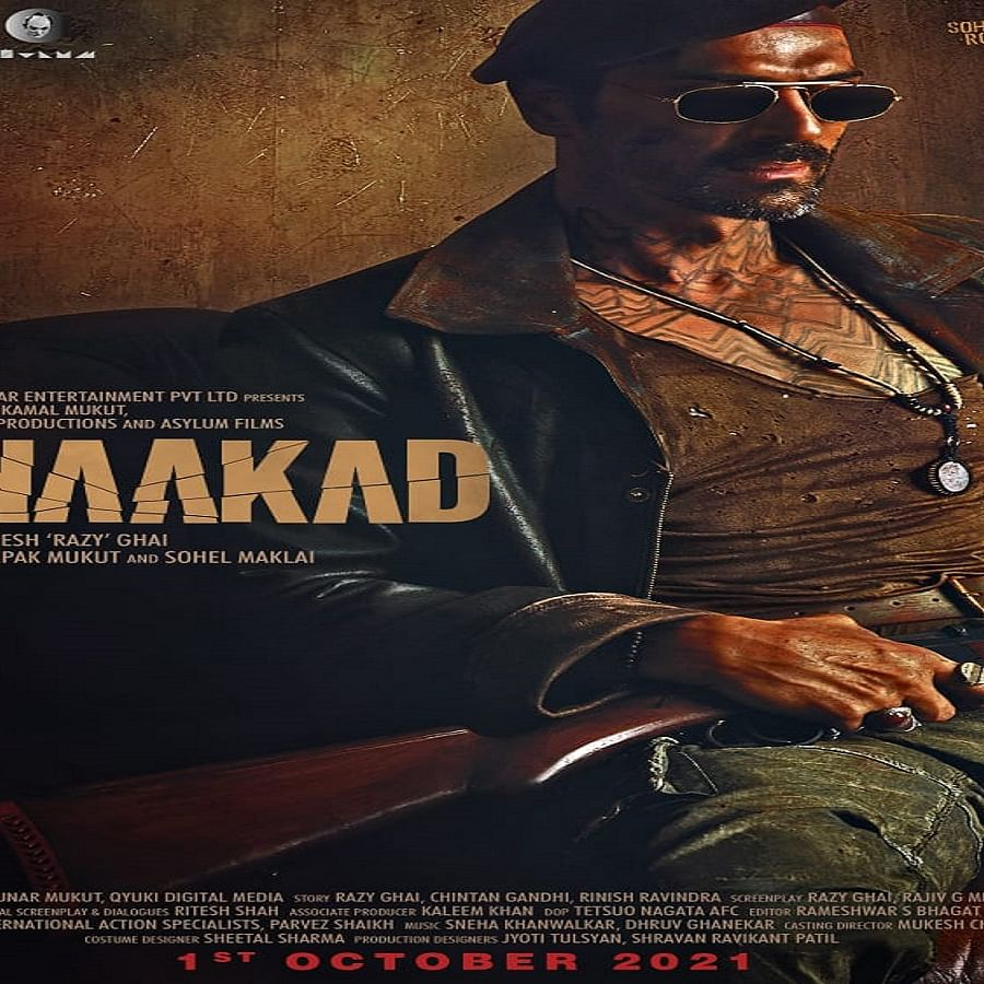Arjun Rampal looks impressive as a villain in 'Dhaakad', new poster out now