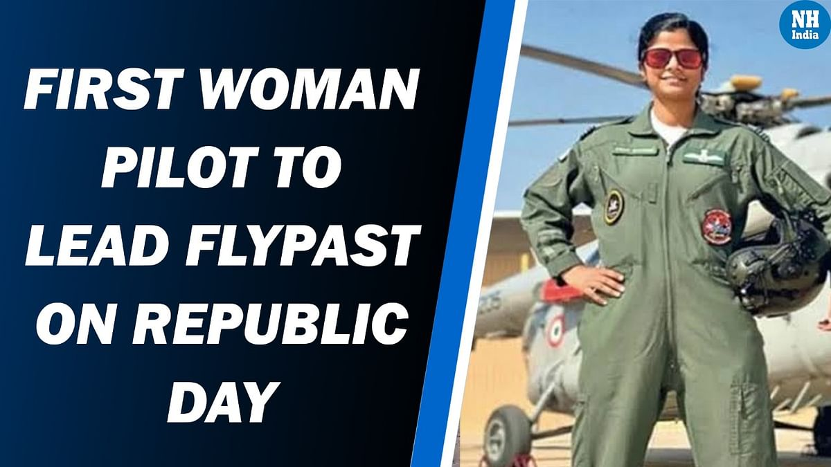 Salute! Swati Rathore Becomes First Woman To Lead R-Day Parade