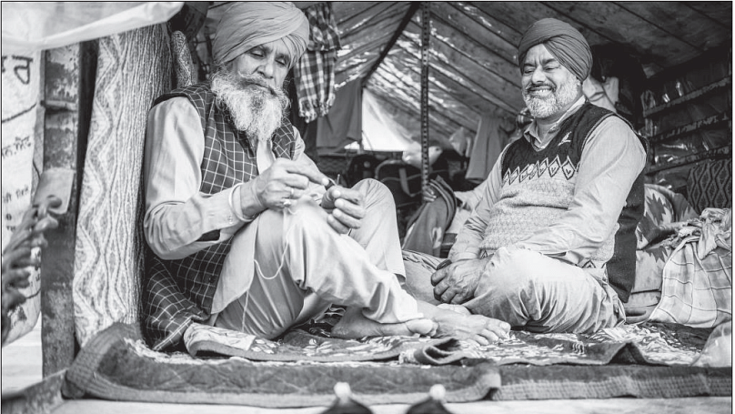 A photo essay on farmers camping at the doorsteps of Delhi: an unrest that united and healed Punjab