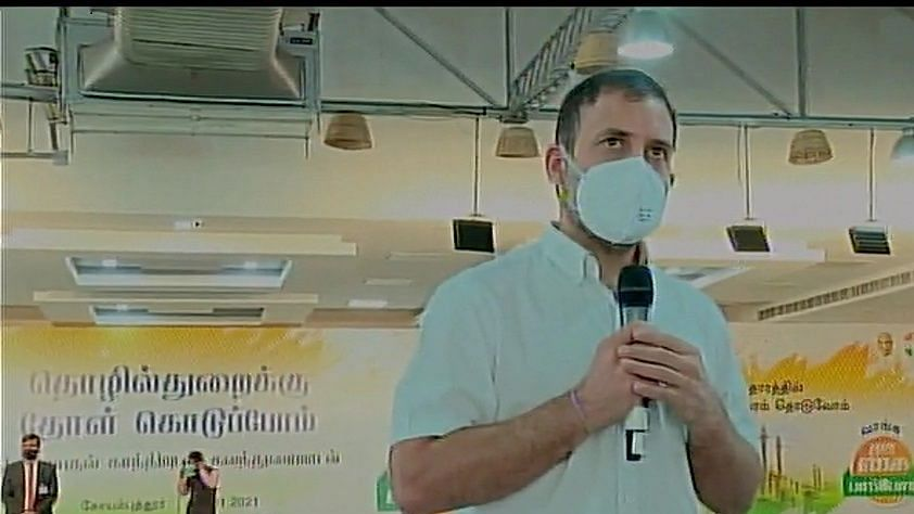 Rahul Gandhi launches Congress campaign in Tamil Nadu, targets PM Modi