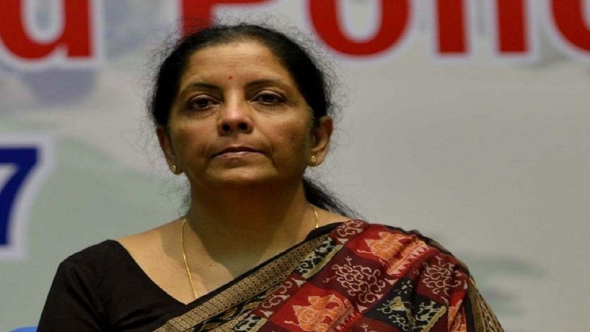 Union Finance Minister Nirmala Sitharaman (Photo Courtesy: IANS)