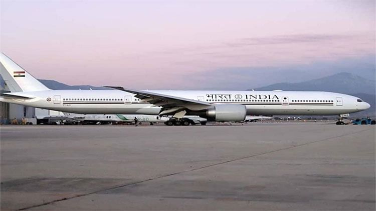 The Prime Minister's official aircraft