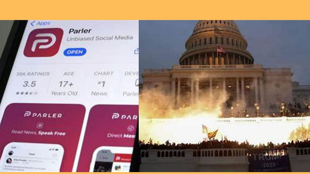 Google, Apple and Amazon pull the plug on Parler, a social network suddenly popular with Trump supporters