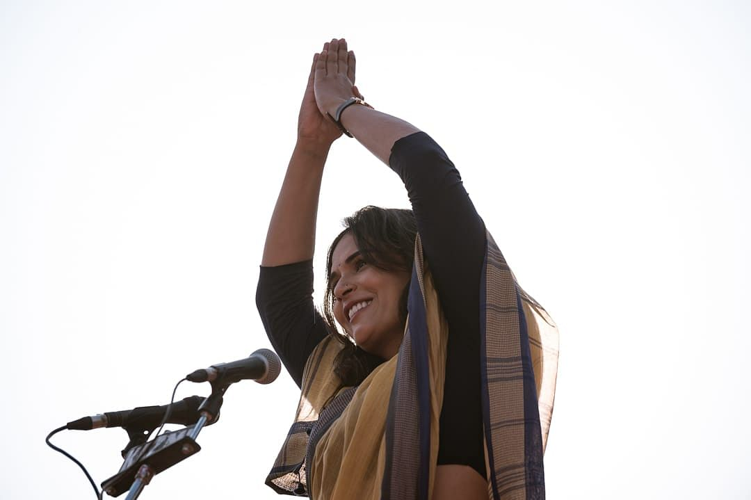 Completely unintentional oversight, says Richa Chadha  on  her look in 'Madam Chief Minister'
