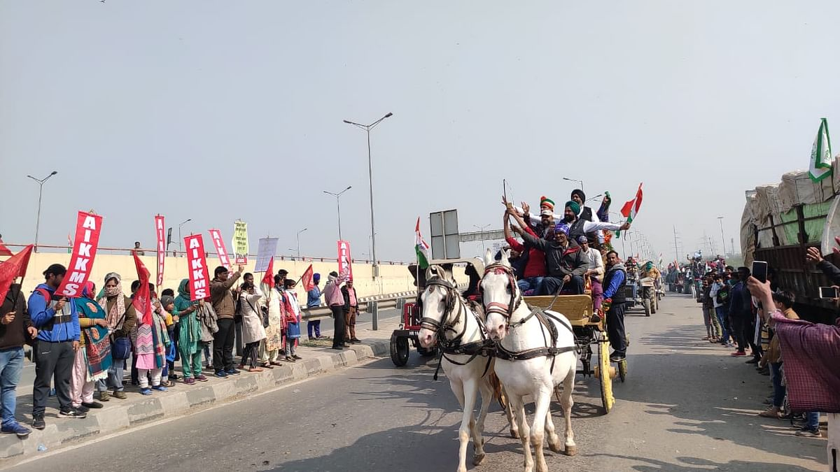 Ground report: What I saw at Delhi's Ghazipur border today