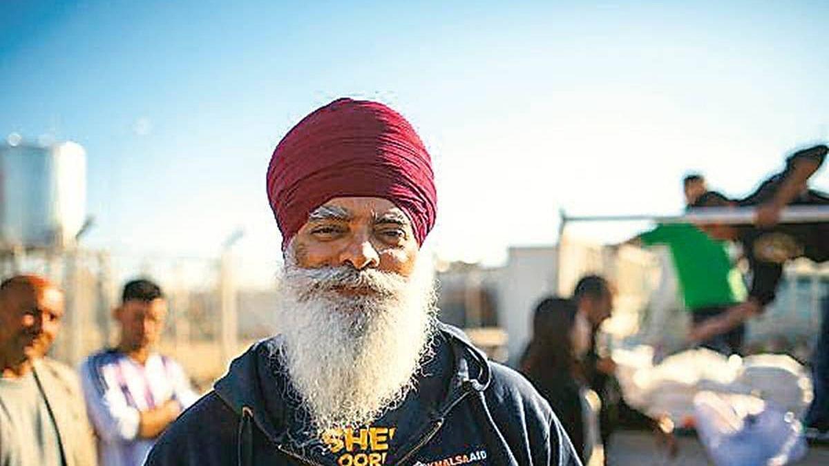 Khalsa Aid CEO Ravinder Singh (Photo courtesy: Twitter)