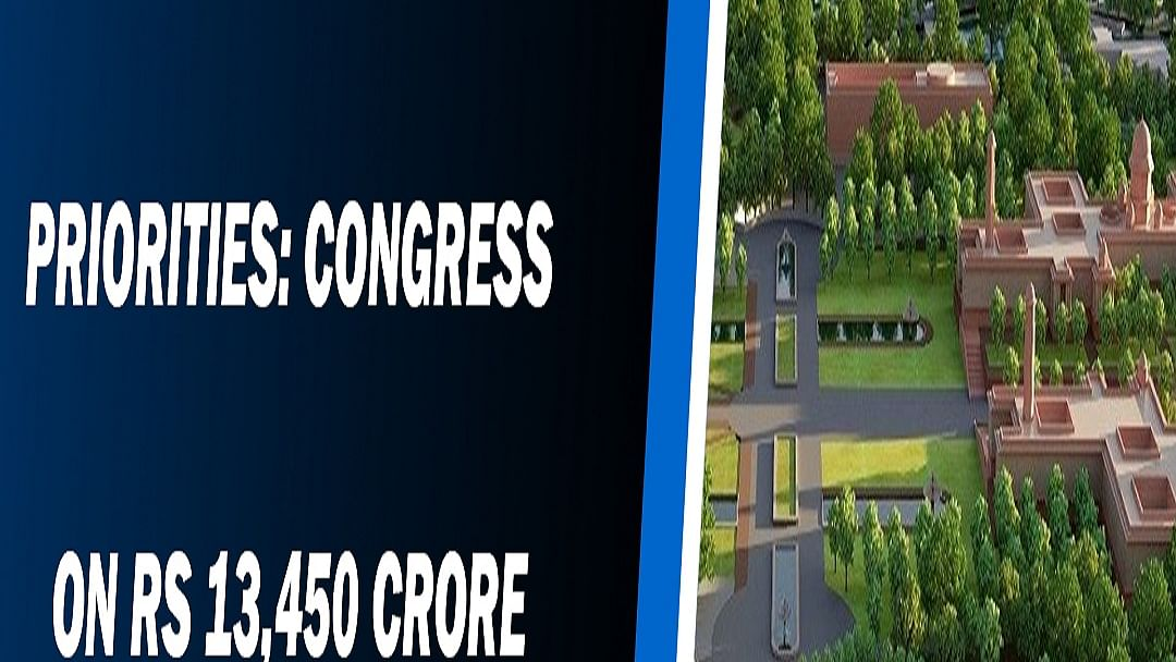 Case of misplaced priorities: Congress on Rs 13,450 crore Central Vista Project
