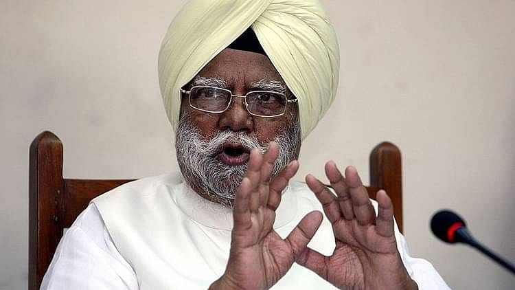 Former home minister Buta Singh passes away