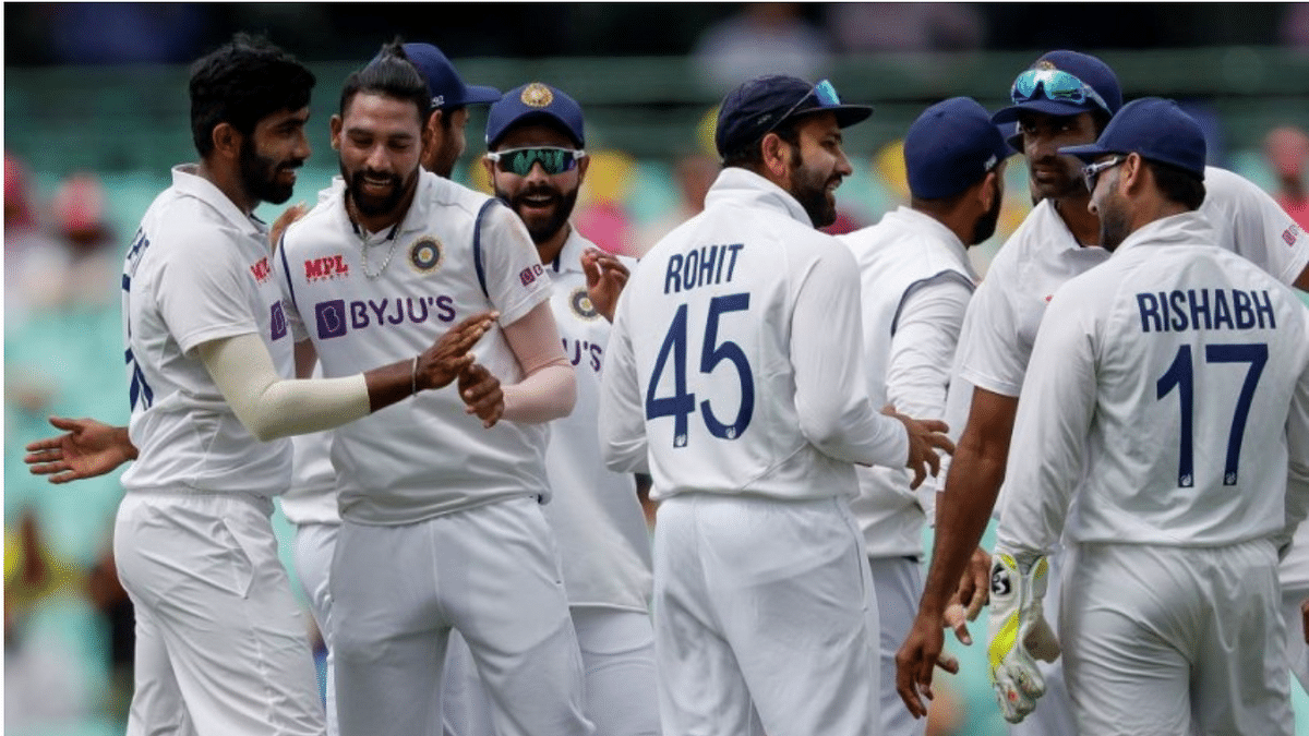 Rain stops play with Australia 21/1 after Siraj dismisses Warner