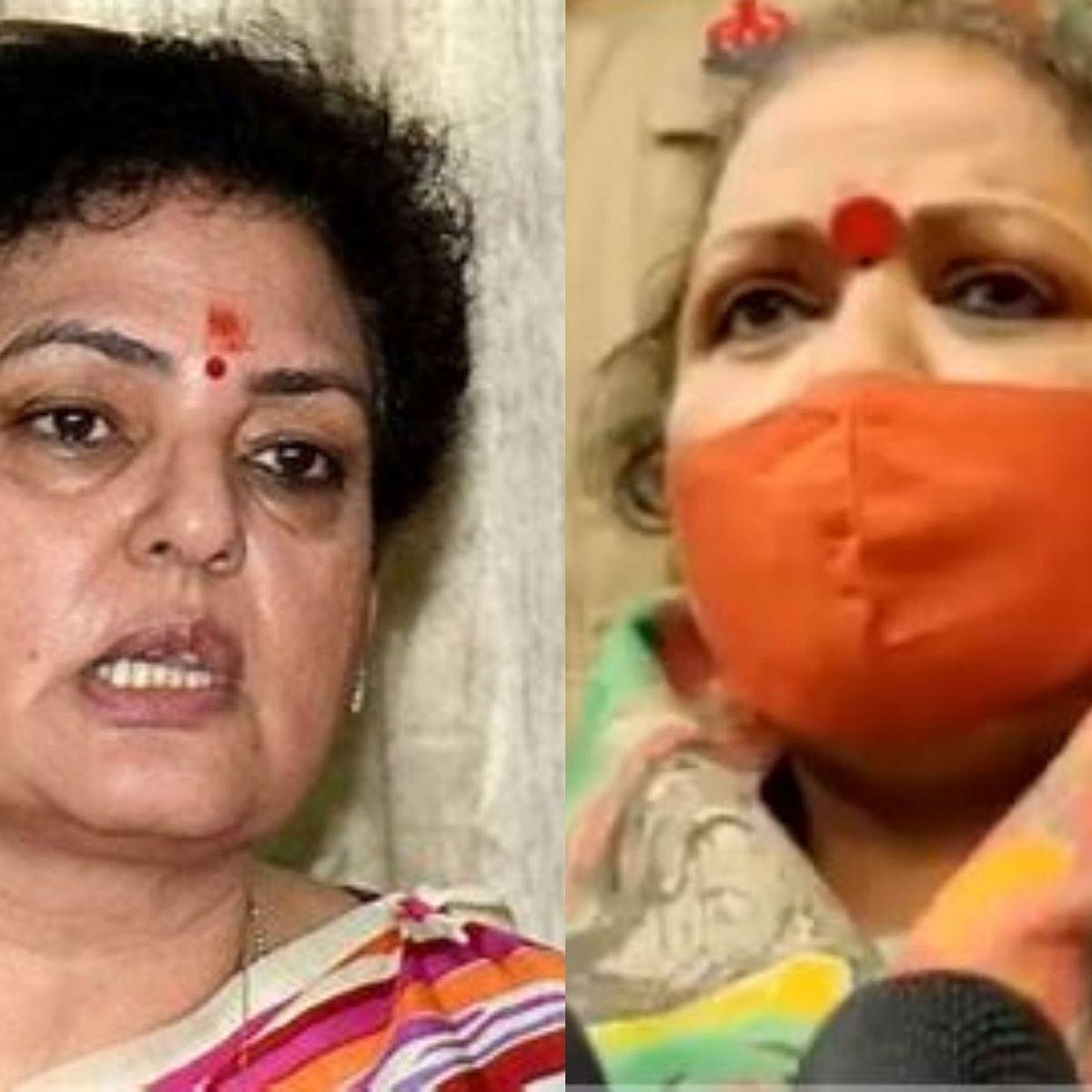 NCW chairperson Rekha Sharma (Left) and NCW member Chandramukhi Devi (Right)
