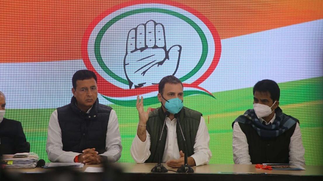#ArnabGate: Rahul Gandhi says sharing of secret information on Balakot strike a criminal act, demands probe